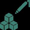 Formy silikonowe i poliuretanowe do wytwarzania gipsowych lub betonowych ściennych paneli 3D o różnych strukturach